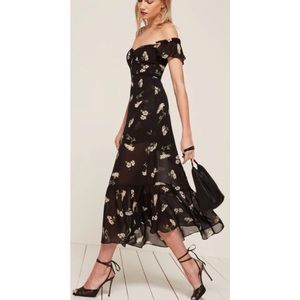 Reformation Tropica maxi dress - size 4